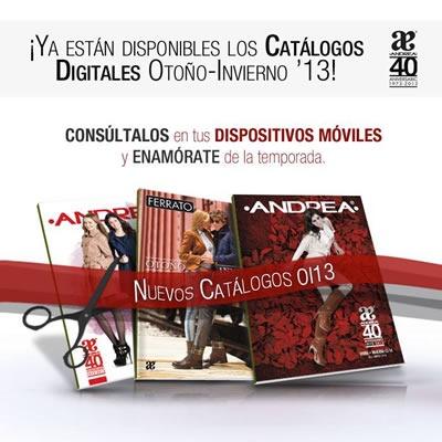 Andrea Otoño Invierno 2013: Todos Los Catálogos de Zapatos, Ropa y Belleza - México