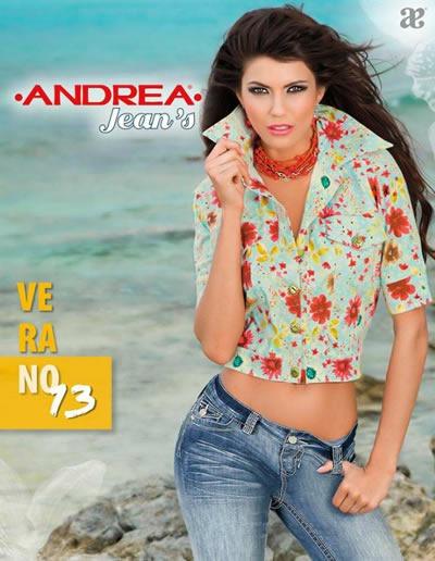 Catalogo Andrea Coleccion De Ropa Y Jeans Verano 2013 Mexico