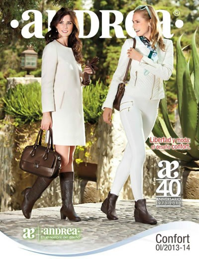 Catálogo Andrea Otoño Invierno 2013-2014: Andrea Confort - México