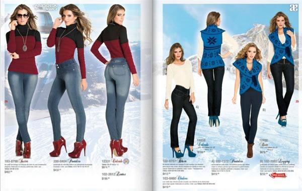 f7f29d70 ANDREA: Catálogo de Jean's - Colección Otoño Invierno 2013-2014 - México