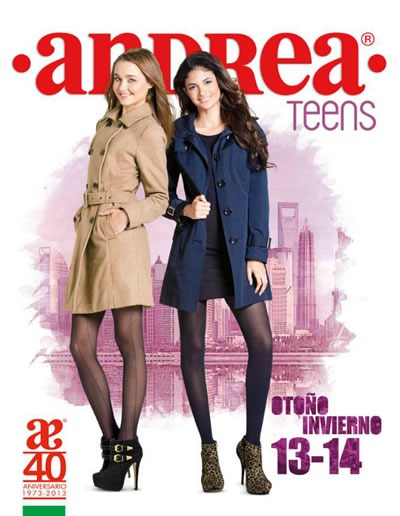 Catálogo Andrea Otoño Invierno 2013-2014: Andrea Teens - México