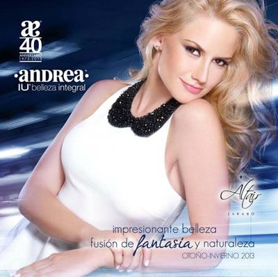 ANDREA: Catálogo de Belleza Integral - Otoño Invierno 2013 - México