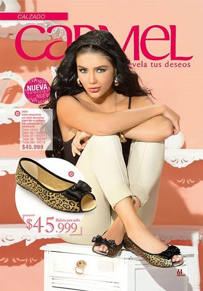 CARMEL: Catálogo de Calzado para Damas - Campaña 12 2013 - Colombia