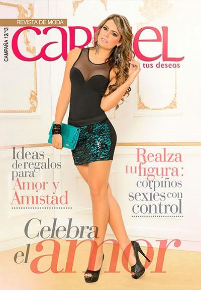 CARMEL: Catálogo de Ropa para Mujer - Campaña 12 2013 - Colombia