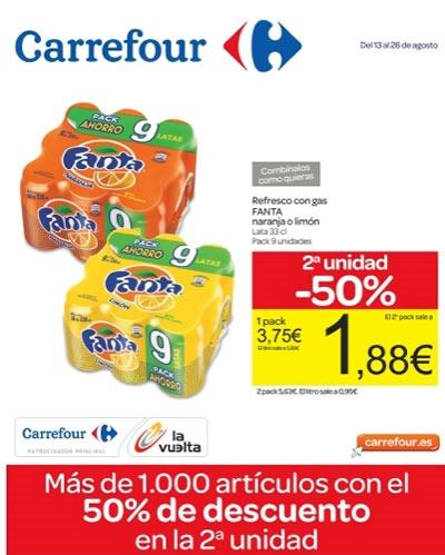 Ofertas Carrefour Agosto 2013 - Comestibles - Valencia España