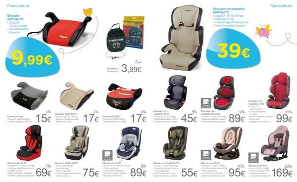 Cat logo carrefour productos para beb s septiembre 2013 for Coche con silla de auto