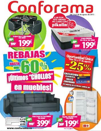 catalogo-conforama-agosto-2013-rebajas-especiales-espana