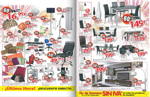 Cat logo conforama ofertas por gran apertura en alcal for Muebles por catalogo