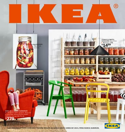 Catálogo IKEA 2014: Colorida Tendencia en Decoración - Estados Unidos
