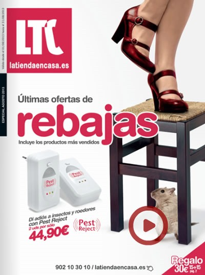 Cat logo la tienda en casa agosto 2013 ultimas rebajas for Catalogo casa
