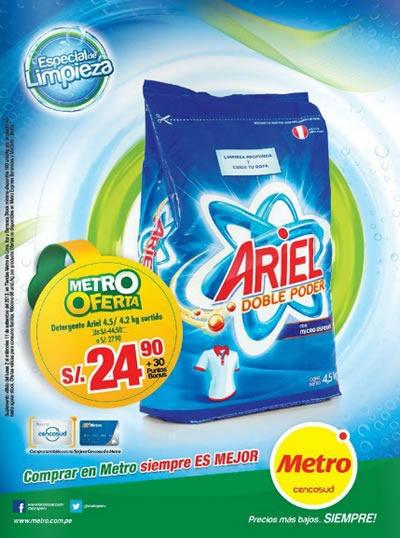 Catálogo METRO: Septiembre 2013 - Especial de Limpieza