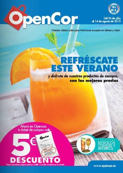 catalogo-opencor-agosto-2013-ofertas-alimentacion-espana