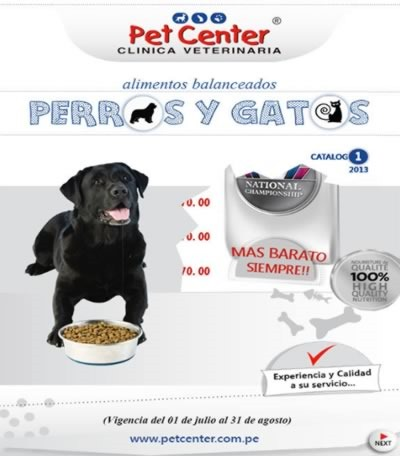 catalogo-pet-center-alimentos-mascotas-agosto-2013-peru