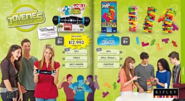 Catalogo Ripley Juegos De Salon Hasbro Septiembre 2013 Chile