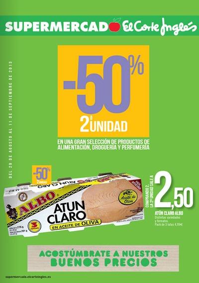 6ef2326bd50 Catálogo de Supermercado El Corte Inglés  Agosto Septiembre 2013 ...