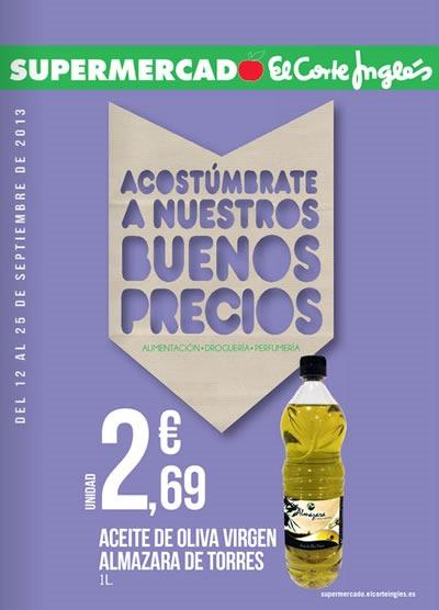 Catálogo de Supermercado El Corte Inglés: Válido Hasta el 25 de Septiembre de 2013
