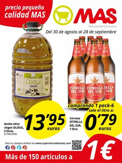 Catálogo de Supermercado MAS: Ofertas de Septiembre 2013