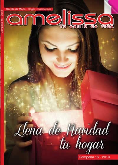 catalogo amelissa campana 16 moda hogar cosmeticos 2013 colombia