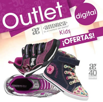 catalogo andrea outlet kids septiembre 2013