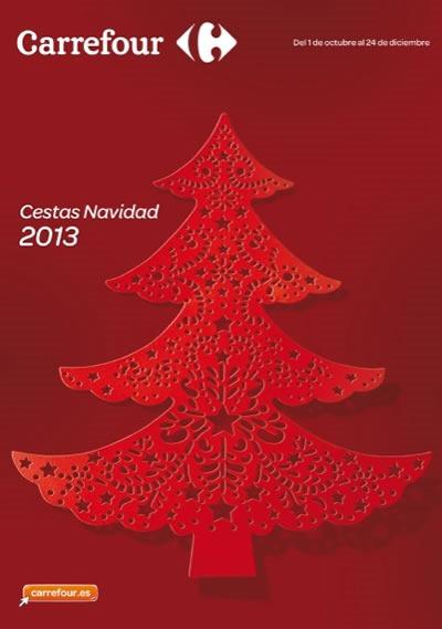catalogo carrefour octubre diciembre 2013 cestas de navidad espana