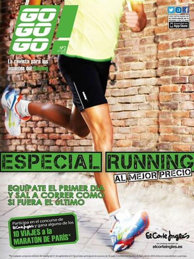 catalogo el corte ingles calzado para correr octubre 2013