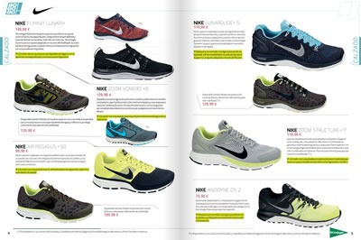 catalogo el corte ingles calzado para correr octubre 2013 2