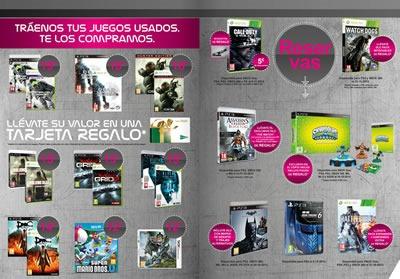 catalogo el corte ingles lo ultimo en videojuegos futurea 2013 2