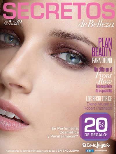 catalogo el corte ingles secretos de belleza octubre 2013 espana