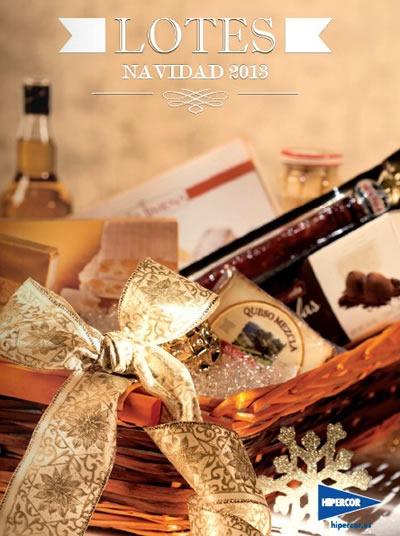 HIPERCOR: Catálogo de Lotes de Navidad 2013 - España