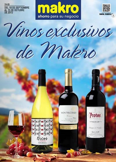catalogo makro vinos exclusivos octubre 2013 espana
