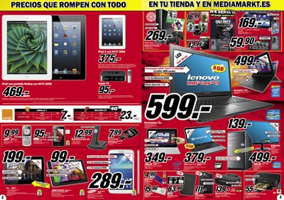 Cat logo media markt octubre 2013 precios que rompen con for Catalogos de sofas y precios
