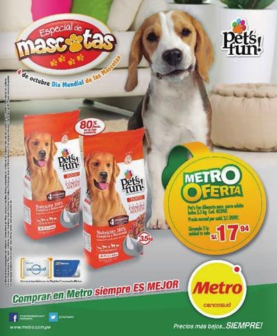 catalogo metro octubre 2013 especial mascotas peru