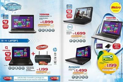catalogo metro ofertas tecnologia artefactos octubre 2013 peru 3