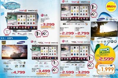 catalogo metro ofertas tecnologia artefactos octubre 2013 peru 6