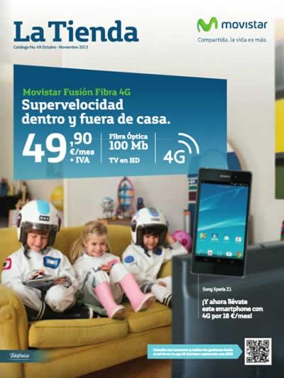 catalogo movistar octubre noviembre 2013 moviles celulares smartphones espana