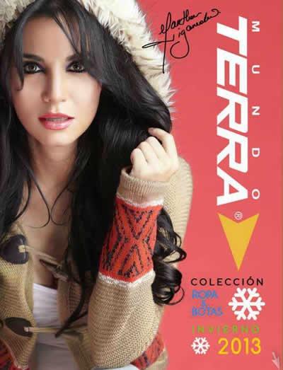 catalogo mundo terra ropa y botas coleccion invierno 2013