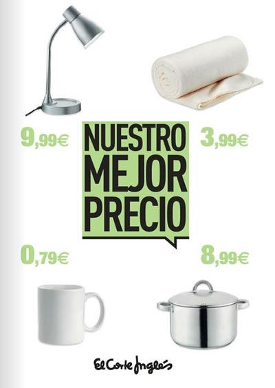 catalogo nuestros mejores precios en el corte ingles 2013 espana