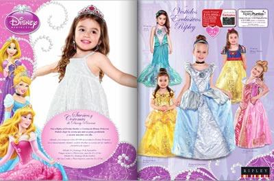 Catálogo Ripley Octubre 2013: Princesas de Disney - Chile