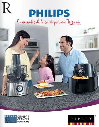catalogo ripley septiembre 2013 artefactos philips peru