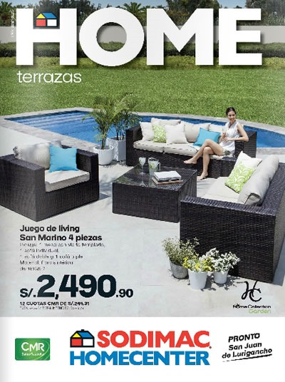 Cat logo sodimac homecenter octubre 2013 per for Columpio de terraza homecenter