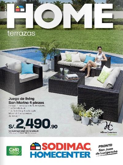 catalogo sodimac homecenter octubre 2013 terrazas peru