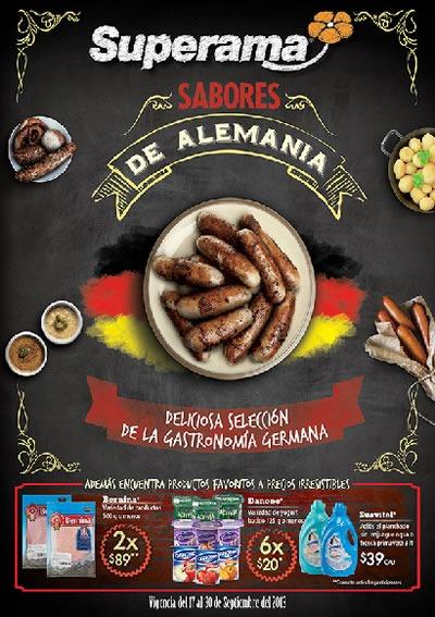 catalogo superama sabores de alemania septiembre 2013 mexico