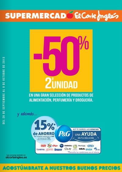 catalogo supermercado el corte ingles sep oct 2013