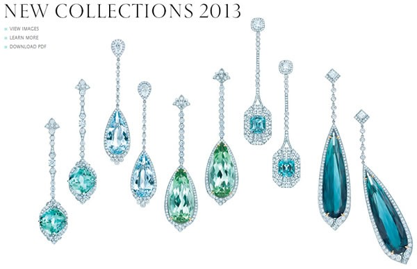 catalogo tiffany 2013 estados unidos