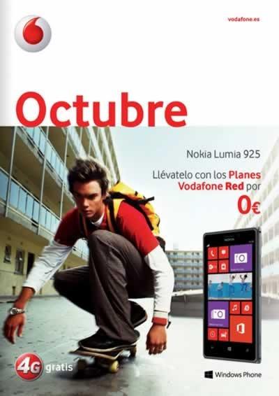 catalogo vodafone octubre 2013 ofertas smartphones moviles espana