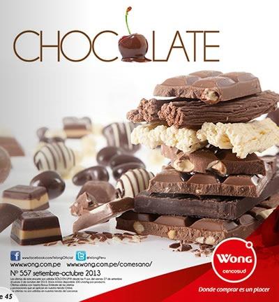 catalogo wong octubre 2013 chocolate