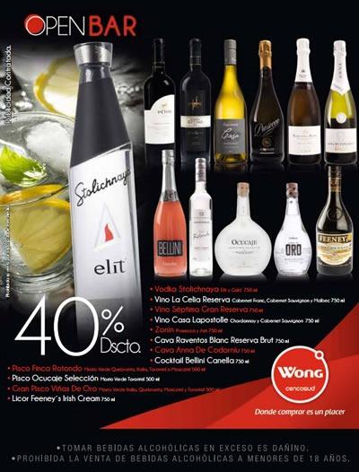 catalogo wong ofertas vinos licores septiembre 2013 peru 2