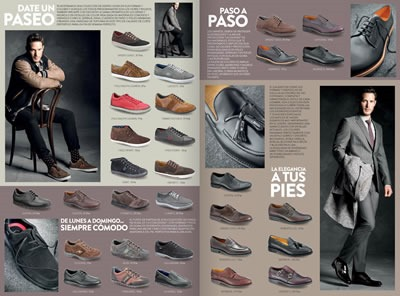catalogo zapatos hombre otono invierno 2013 el corte ingles espana