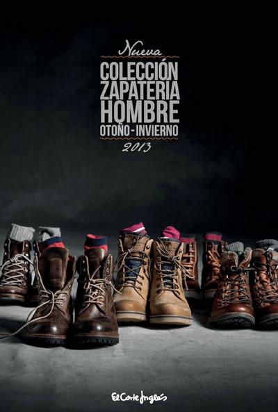 catalogo zapatos hombre otono invierno 2013 el corte ingles espana portada
