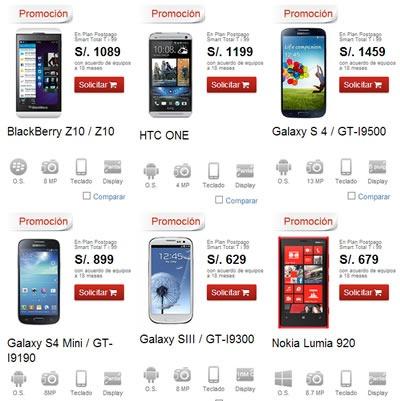 claro ofertas smartphones solo x 24 horas octubre 2013 peru 2